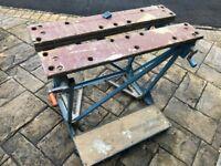 Black and Decker Work Bench, Saw Horse, Work Horse, Vintage