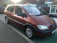 *** 7 SEATER *** 2001 VAUXHALL ZAFIRA 1.6 CLUB 16V LONG MOT TIDY CAR