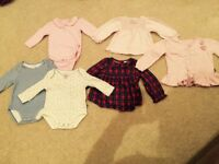 Bundle of baby girls clothes 9-12m