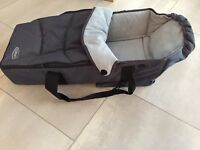 Soft grey graco carrycot