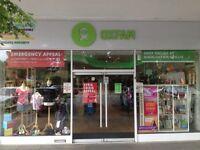 Book Volunteers Needed in Crawley Oxfam
