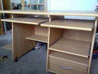 Full size computer work station desk £30