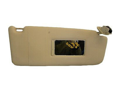 *AUDI A6 C5 1997-2004 BEIGE DRIVER RIGHT SUN VISOR WITH LOOM 4B0857552