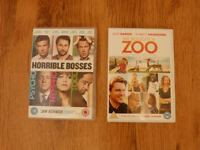 Horrible Bosses & We bought a Zoo DVDs