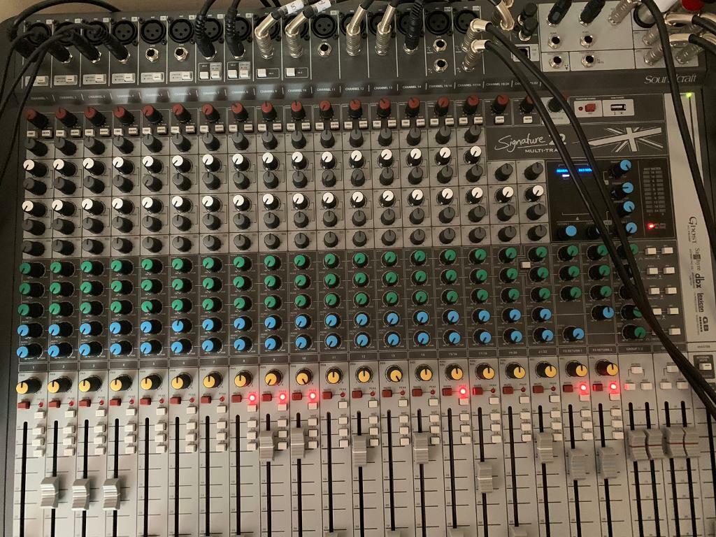 Soundcraft 22 mtk analogue multitrack mixer | in Fallowfield, Manchester |  Gumtree