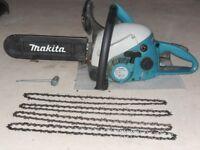 Makita DCS 4610 Petrol Chainsaw.