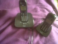 BT1000 Dual Digital Cordless Phones