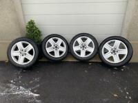 "VW Tiguan 18"" Alloy Wheels and Winter Tyres"