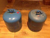 Camping gaz 907 cylinders x 2