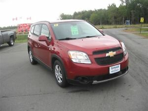 2012 Chevrolet Orlando 1LT ( $115.72 Biweekly)