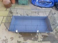 Hutch / run. Indoor or out. Rabbit, guinea-pig etc. As new.