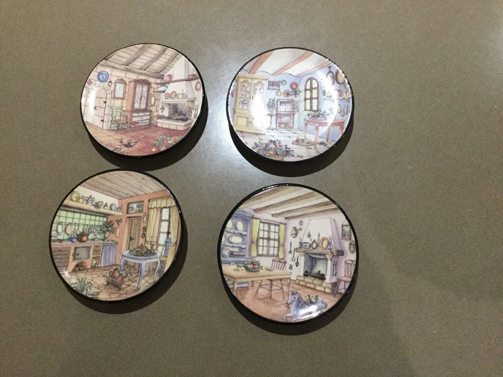 4 3 1 2 Inch Miniature Wall Plates With Interior French