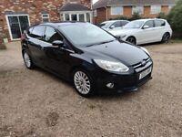 Ford Focus 1.6 TDCi Titanium X, 2 Owner, Serviced, MOT Jan 2022, 2 keys £20 year road tax.