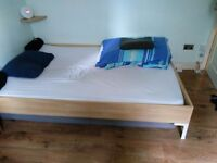 Two Good Quality Cheap Used Ikea Beds and Matresses - Available together (£150) or separately (£75)