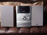 Sony Stereo, Tape, 3 CD Changer, Radio, DAB. Mini System