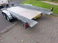 Brenderup Tilt Bed trailer