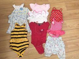 Baby girl's summer bundle 6-9 months