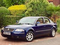 2004 VW PASSAT 1.9 TDI 130 BHP HIGHLINE AUTOMATIC-TIP FULL CREAM LEATHER FACE LIFT MODEL