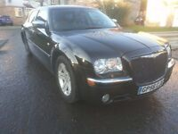 2006 CHRYSLER 300C CRD AUTO BLACK with DVD and BOSTON premium sound system