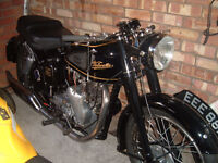 1954 Velocette 500 MSS