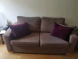 Comfy large two person couch