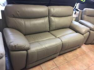 Power Leather Recliner Sofa  and Love Seat