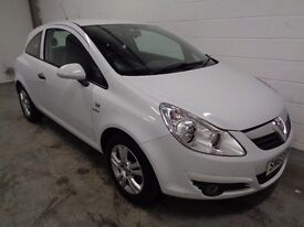 VAUXHALL CORSA , 2010/60 REG, ONLY 42000 MILES + HISTORY, £30 ROAD TAX, YEARS MOT, FINANCE, WARRANTY