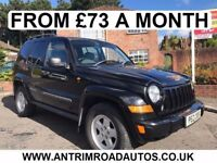 2007 JEEP CHEROKEE 2.8 CRD 4X4 ** AUTOMATIC ** FINANCE AVAILABLE WITH NO DEPOSIT **