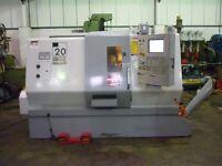 HAAS MODEL SL20 TCE CNC LATHE
