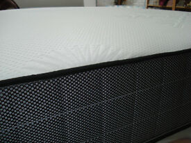 Double, Button Top, memory, mattress, double sided. with firm changable sides.