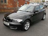 BMW 1 Series 118d SE 5dr Step Auto (black) 2009