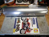 Honda Fireblade exhaust