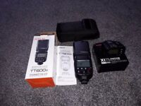 Godox 600s flash for Sony with Godox X12 transmitter for Sony