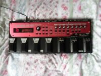 DubFx loop machine pedal setup + mic + extras