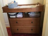 Ikea changing table / chest of drawer