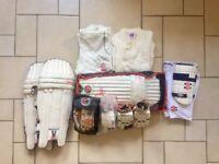 Cricket Kit and Clothing