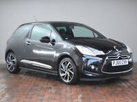 DS DS 3 1.6 Bluehdi Dstyle Nav [Bluetooth, Dab Radio] 3dr (black) 2015