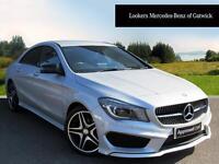 Mercedes-Benz CLA CLA 200 D AMG LINE (silver) 2015-10-09