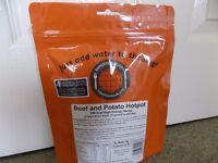 Beef & potato hotpot meal