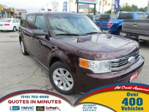 2011 Ford Flex SE   SAT RADIO   8 PASSENGER   BLUETOOTH