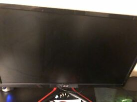 Acer 1ms response time gaming monitor.