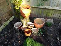 Garden Terracota Pots