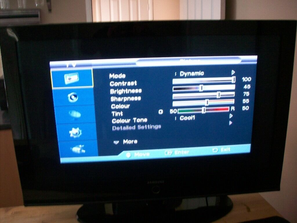 Samsung 42 Plasma Tv Remote And Standgood Condition Working Of Display Perfectly
