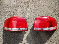 Audi A3 8P pair of taillights to fit 2003-2012