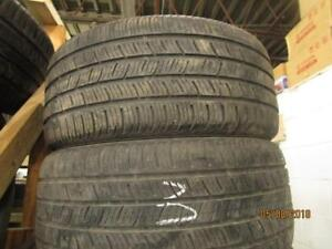 245/40R18 2 ONLY USED CONTINENTAL A/S TIRES