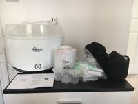 Tommee Tippee electric steriliser and accessories