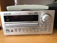 TEAC CD Receiver with TEAC speakers