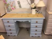 Stunning pine desk/dressing table