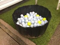x200 mixed golf balls (inc titleist, callaway etc) MORE AVAILABLE