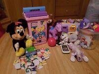 bundle of girly toys